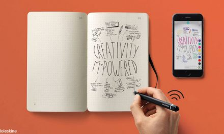 Le carnet Moleskine qui permet de digitaliser vos notes