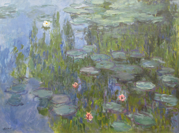 « Deux remords de Claude Monet » de Michel Bernard